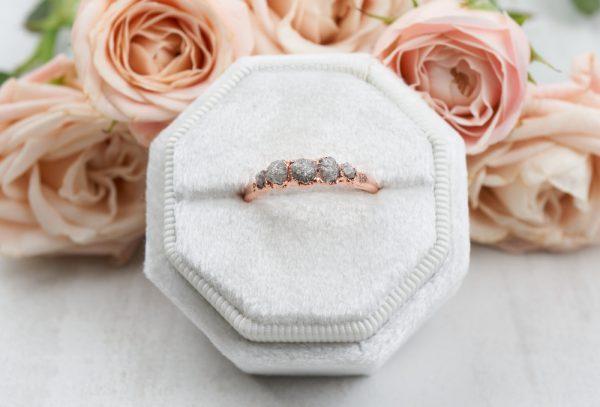 fivestonediamondband